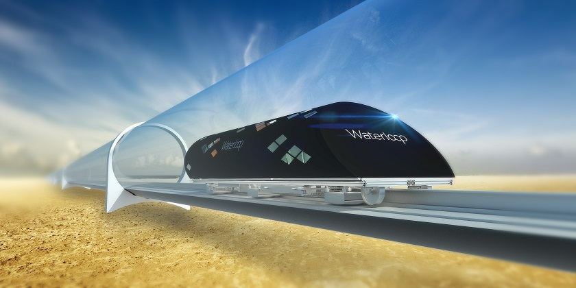 Hyperloop green travel
