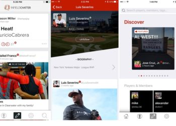 MLB Players Launch Infield Chatter, A Social Network For Baseball Fans!