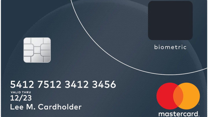 Mastercard introduces biometric card with embedded fingerprint scanner