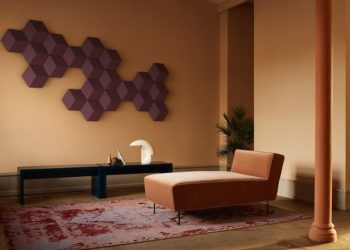 Bang and Olufsen BeoSound Speakers also works as Chic Wall Decor