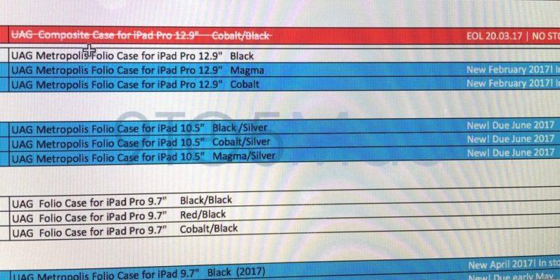 Ipad Pro 2 release date leaked
