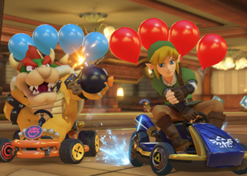 Mario Kart 8 Deluxe Sold A Million Copies