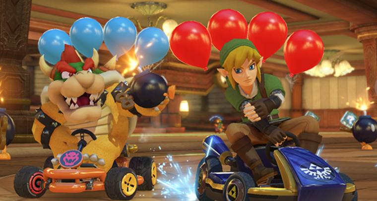 Mario Kart 8 Deluxe Sold A Million Copies