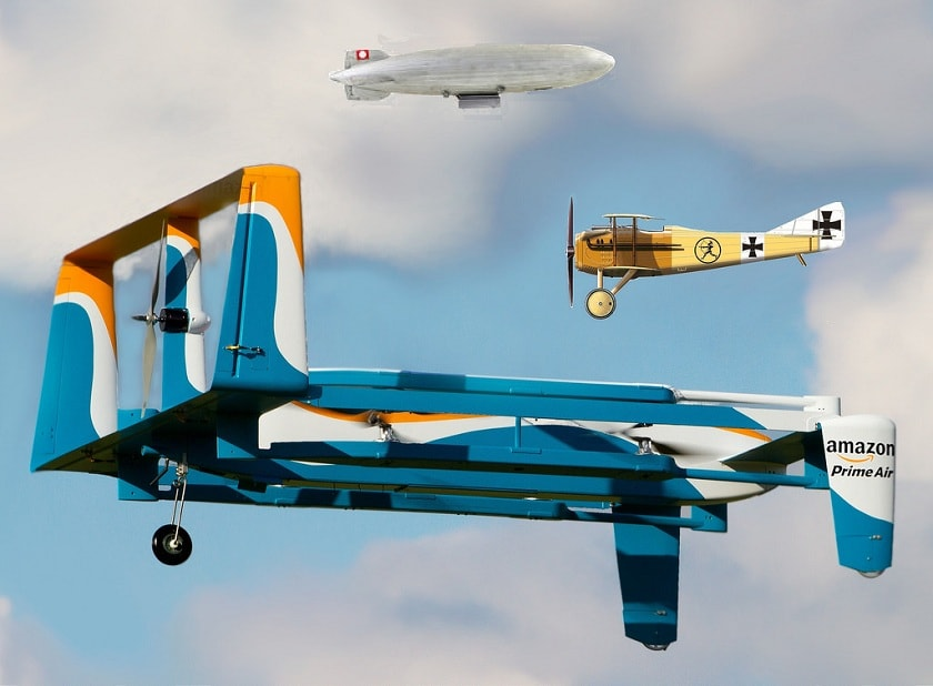 amazon parachute deliveries