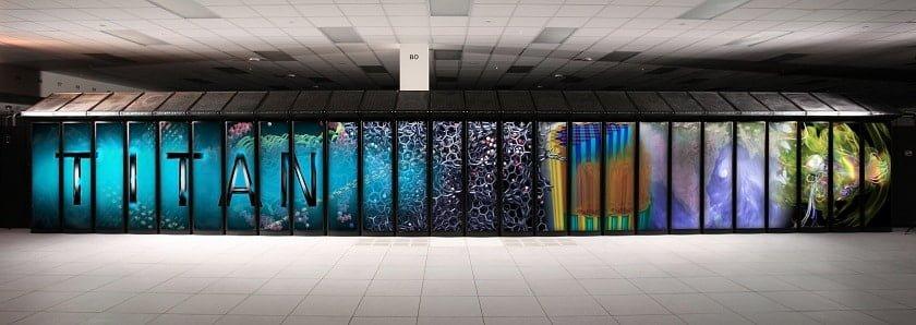 titan exascales supercomputer