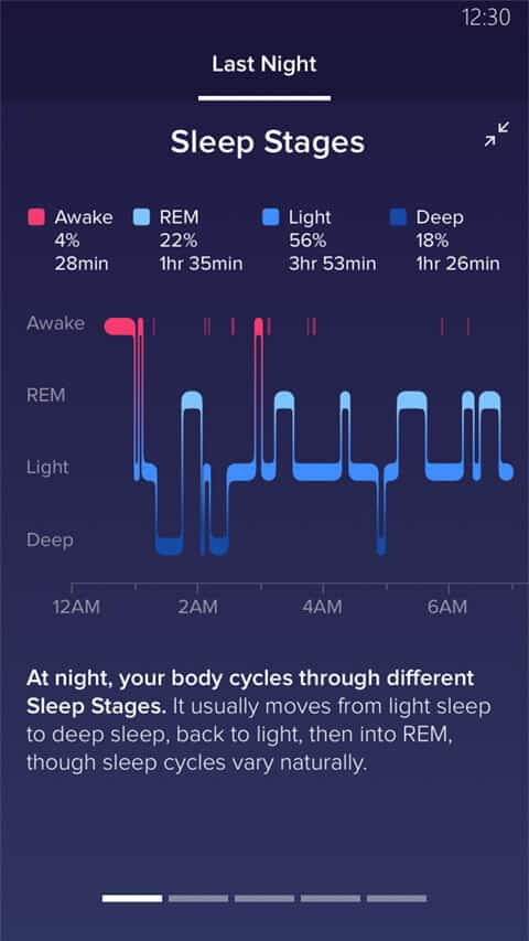 fitbit alta hr sleep tracking