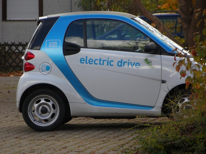 future electric car