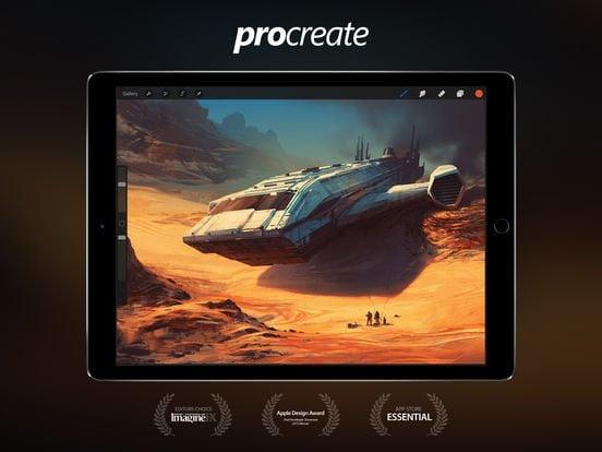 Procreate 3.2.1