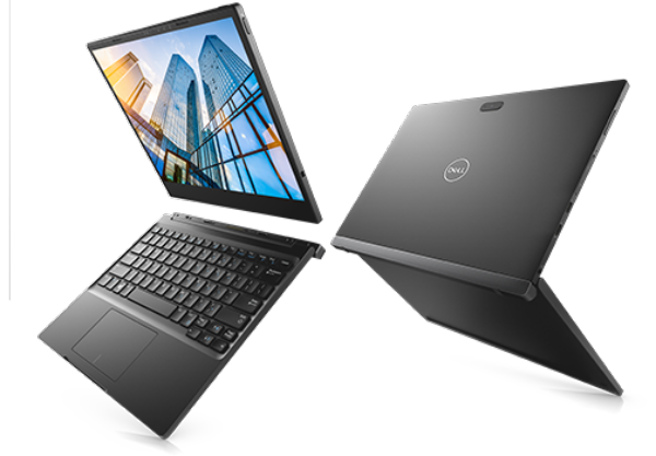 wireless charging laptop Dell Latitude 7285