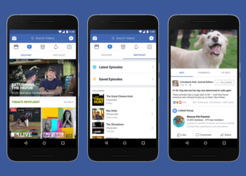 Facebook Announces YouTube Competitor 'Watch'