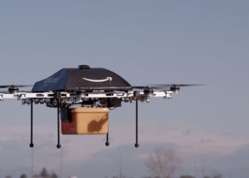 Moving launch facilities for the Amazon delivery drones