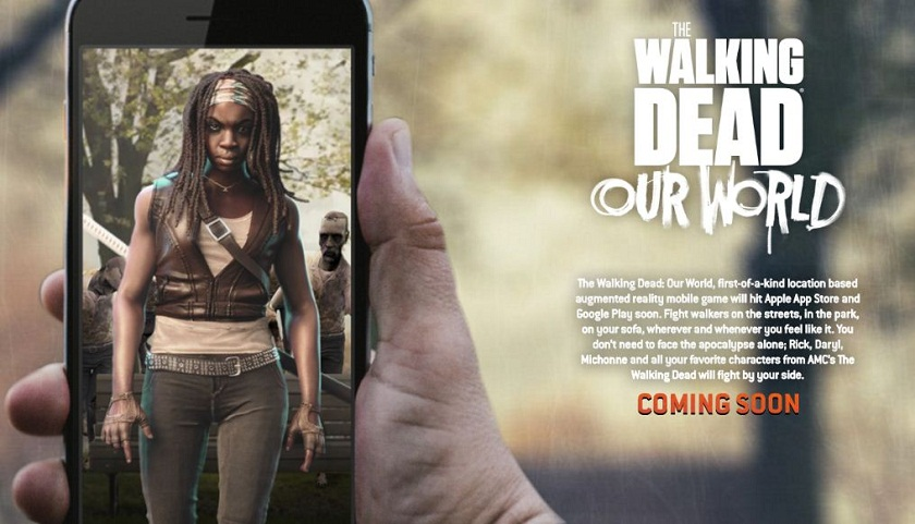 The Walking Dead Our World ARKit apps iOS 11