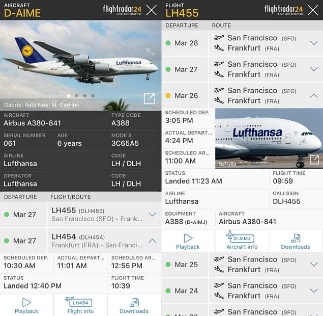 Flightradar24 most useful apps