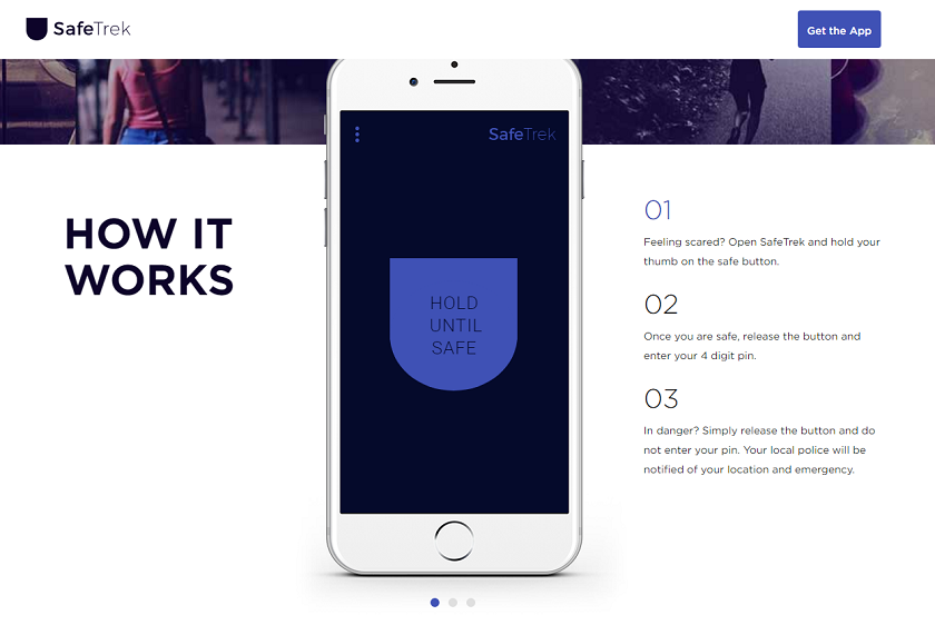 Safetrek most useful apps