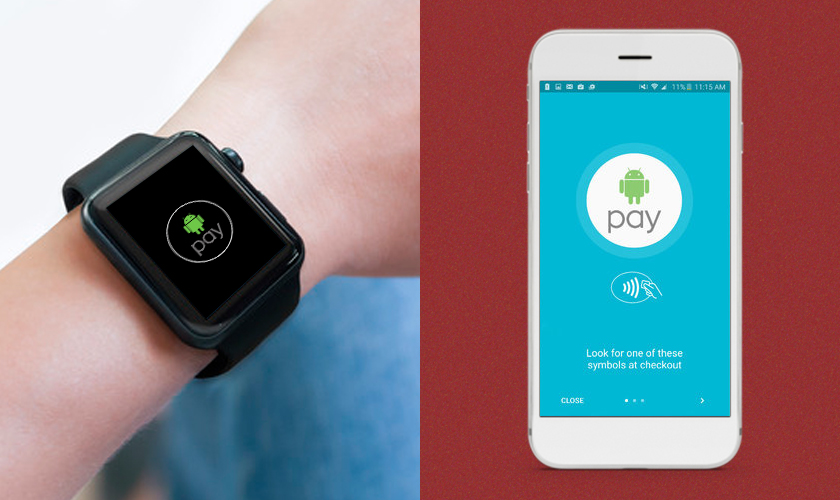 Android Pay top wear apps