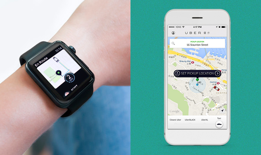 Uber android wear apps top