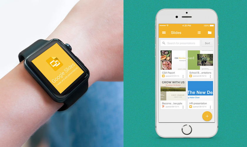 Google Slides top android wear apps