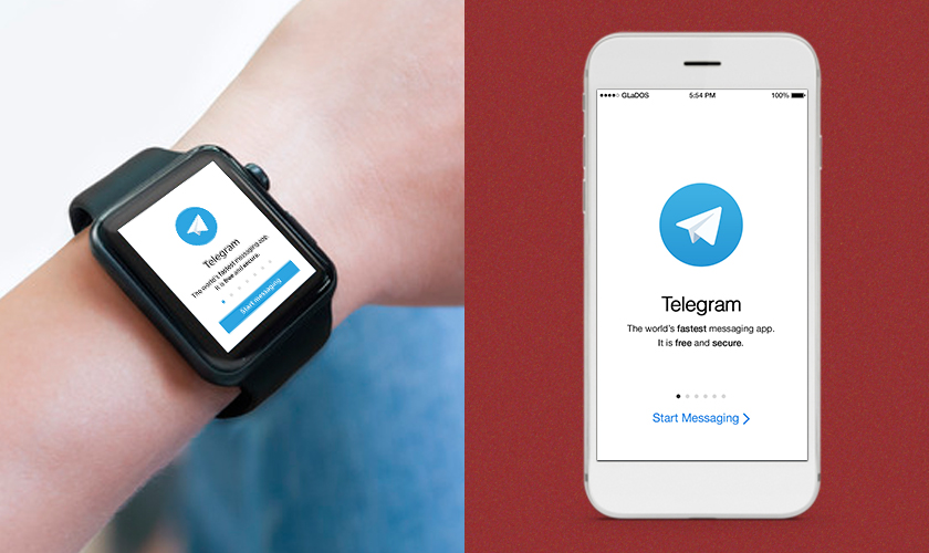 Telegram android wear apps