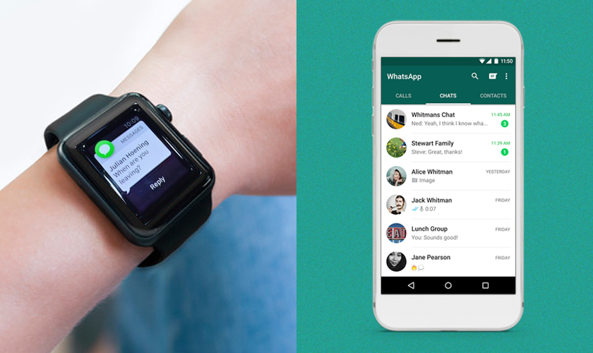 WhatsApp top android wear apps