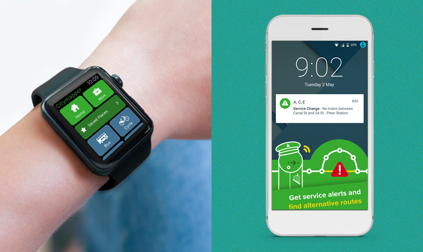 Citymapper top android wear apps