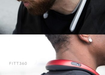 FITT360: World's First 360° Neckband Wearable Camera