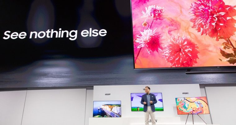 Samsung's 2018 QLED TV Lineup will have a game mode!