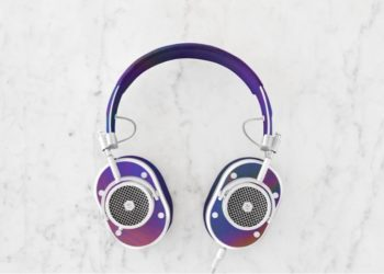 Master & Dynamic Color Changing Leather Headphone Can Sense Your Mood