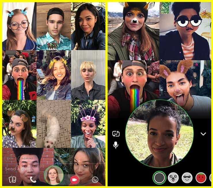 iPhone X Welcomes AR Snapchat Lenses