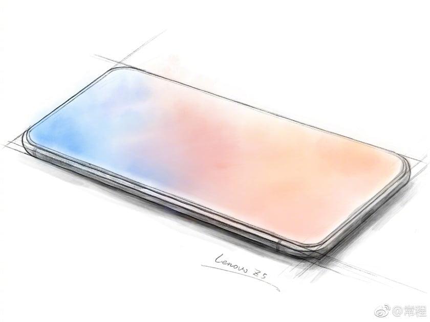 Lenovo All Screen Phone