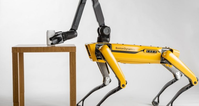 Boston Dynamics' Robot Dog SpotMini Could Accompany You to Work