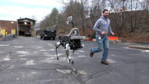 Boston Dynamics SpotMini Spot
