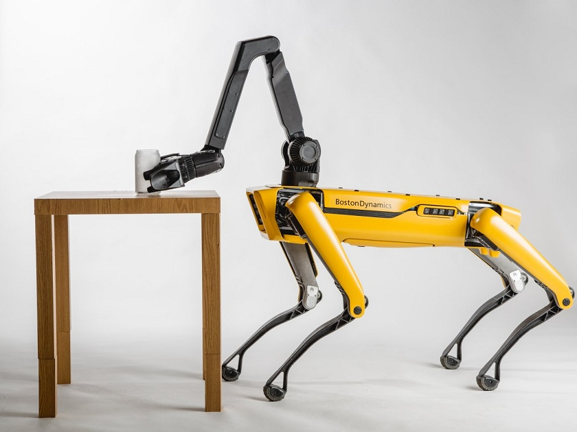 Boston Dynamics' Robot Dog SpotMini Could Accompany You to Work