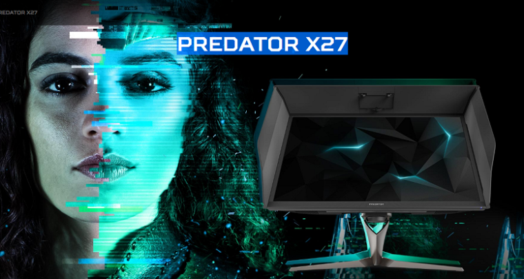 Acer Finally Releases Predator X27, A Breakthrough Gaming Monitor