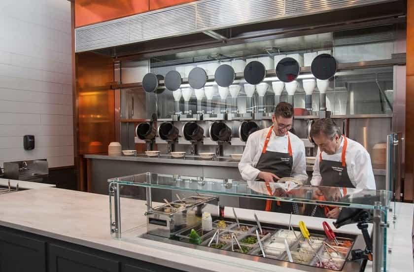 Spyce Robotics Restaurant