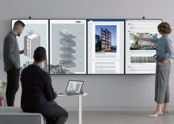 Microsoft Surface Hub 2: A Powerful Tool for Work Space Collaboration