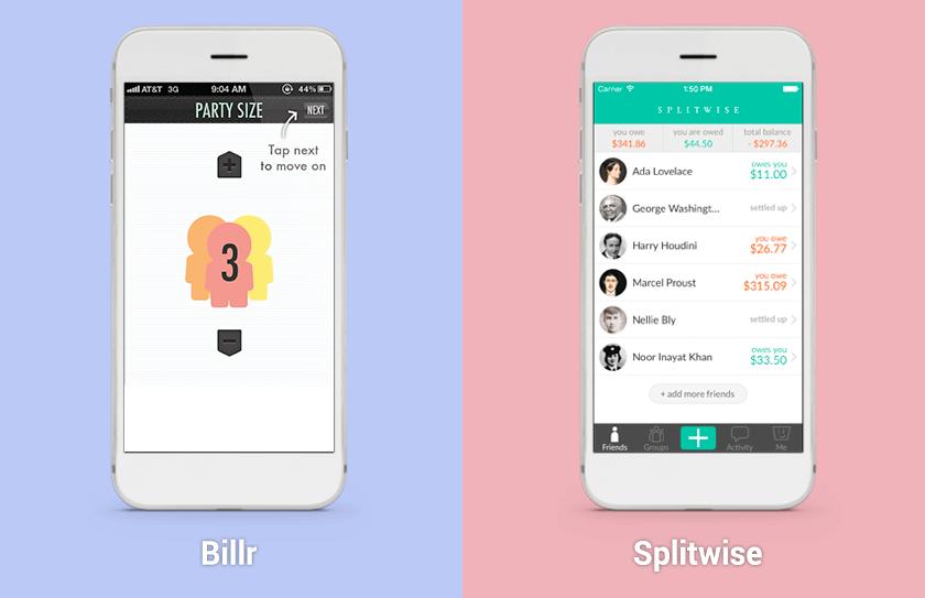 apps splitting bills with friends