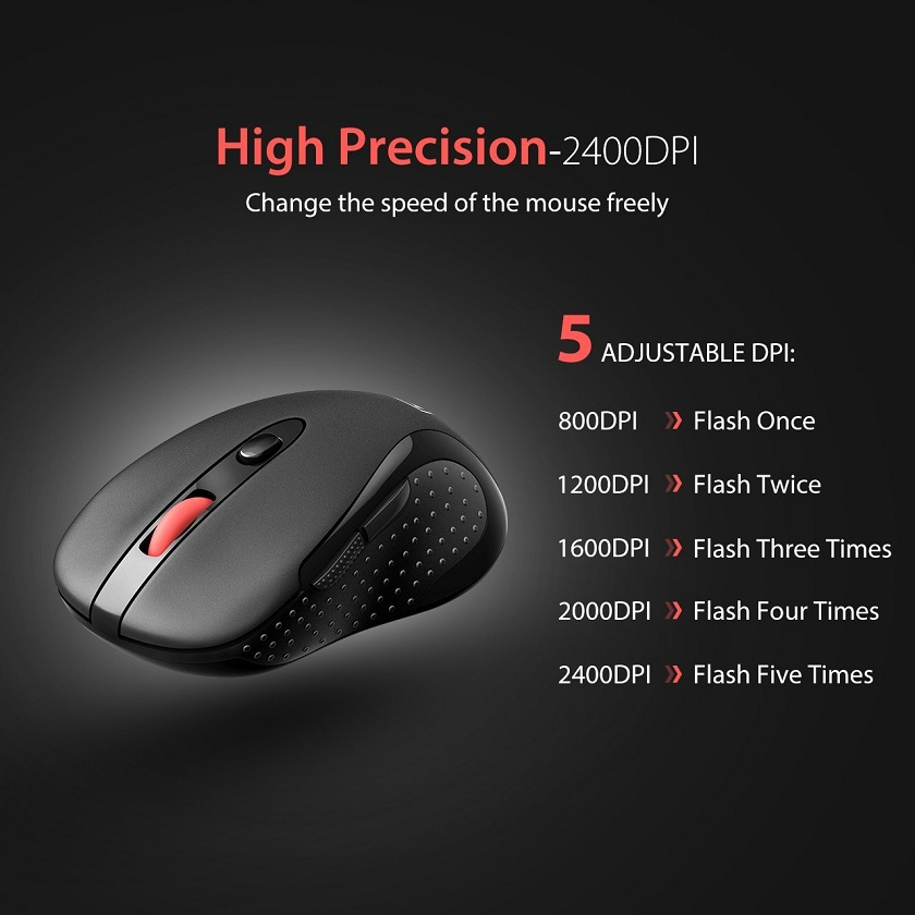 best wireless mouse 2018 VicTsing