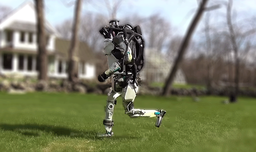 One small step for a robot, one giant leap for AI