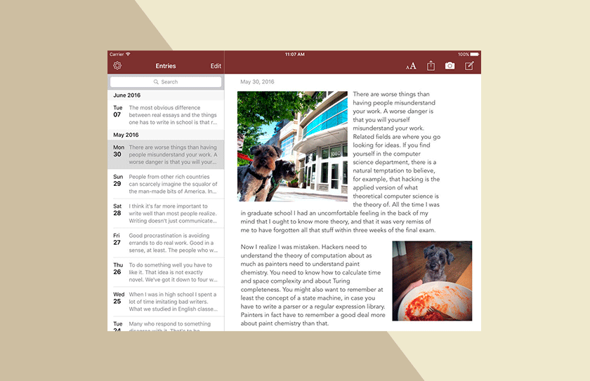 Journaling Apps Chronicle
