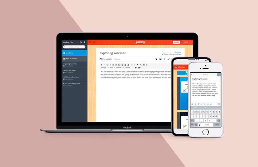 Journaling Apps-Penzu