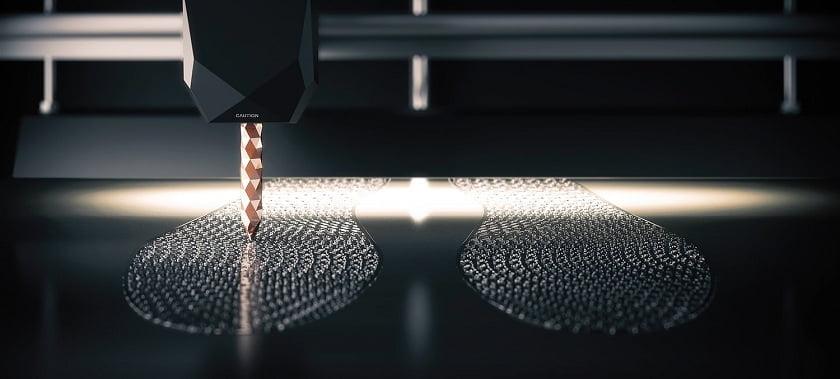 3D printed midsoles ECCO
