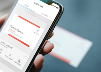Convert Business Card into Phone Contact Directly with Adobe Scan