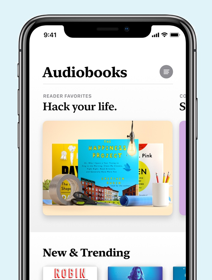 Apple Books Audio Books