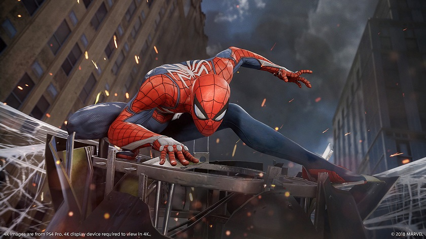 E3 2018 Spider man Sony