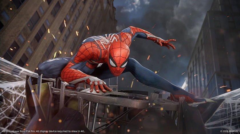 E3 2018 Spider man Sony