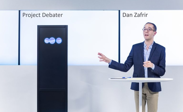 IBM AI Enabled Project Debater Jokes, Argues and Makes Mistakes Just Like Humans