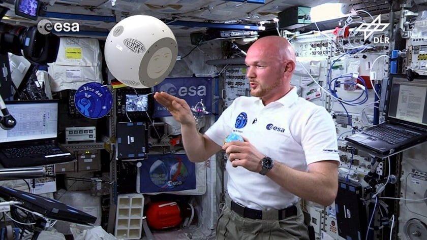 Robotic Astronaut Alexander Gerst