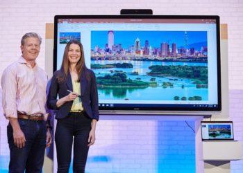 Microsoft Announces Windows Collaboration Displays, IoT Core Services at Computex 2018