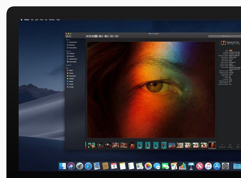 iMac_macOS mojave WWDC 2018