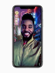 iPhone X triple-camera